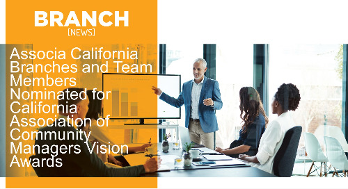 Associa California Branches and Team Members Nominated for California Association of Community Managers Vision Awards