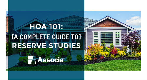 HOA 101: A Complete Guide to Reserve Studies