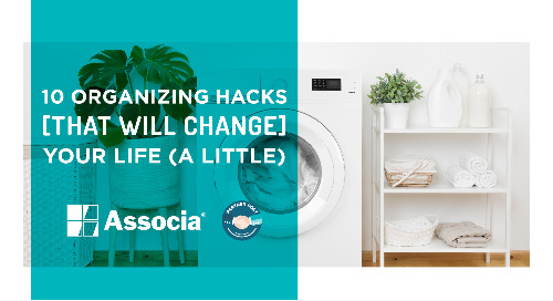 Partner Post: 10 Organizing Hacks that Will Change Your Life (a little)