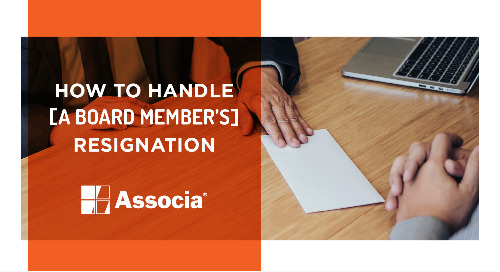 How to Handle a Board Member's Resignation