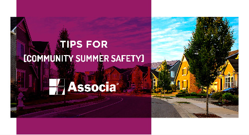 Tips for Community Summer Safety
