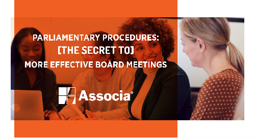 Parliamentary Procedures: The Secret to More Effective Board Meetings