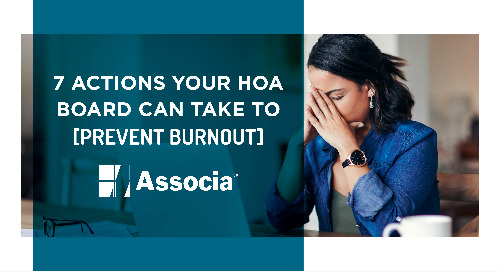 7 Actions Your HOA Board Can Take to Prevent Burnout