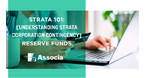 Strata 101: Understanding Strata Corporation Contingency Reserve Funds
