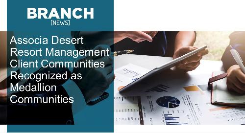 Associa Desert Resort Management Client Communities Recognized as  Medallion Communities