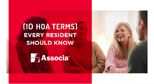 10 HOA Terms Every Resident Should Know