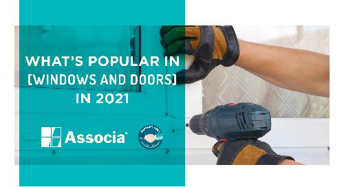 Partner Post: What's Popular in Windows and Doors in 2021