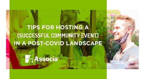 Tips for Hosting a Successful Community Event in a Post-COVID Landscape