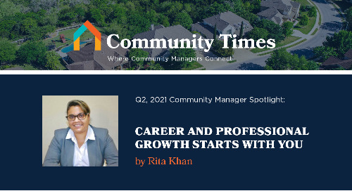 Career and Professional Growth Starts with You - By Rita Khan
