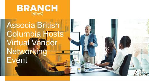 Associa British Columbia Hosts Virtual Vendor Networking Event