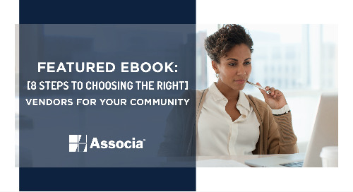 Featured Ebook: 8 Steps to Choosing the Right Vendors for Your Community