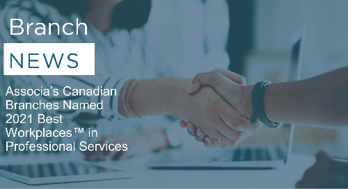 Associa's Canadian Branches Named 2021 Best Workplaces™ in Professional Services