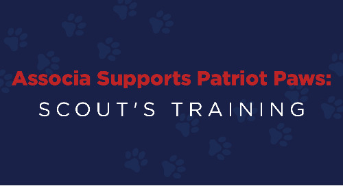 Associa Supports Patriot PAWS: Scout's Training