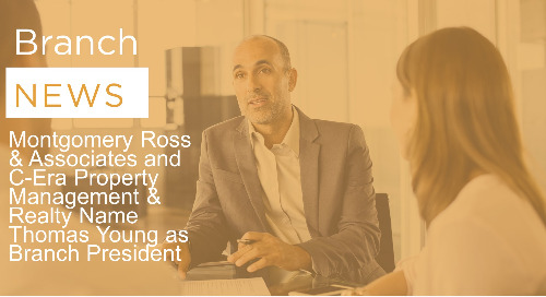 Montgomery Ross & Associates and C-Era Property Management & Realty Name Thomas Young as Branch President
