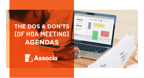 The Dos and Don'ts of HOA Meeting Agendas