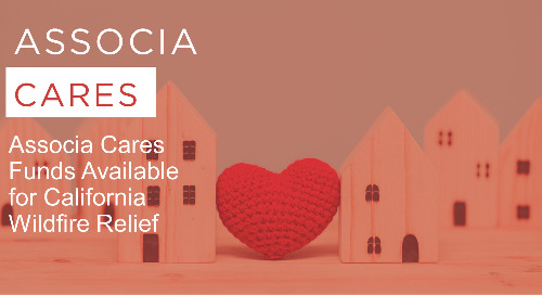 Associa Cares Funds Available for California Wildfire Relief