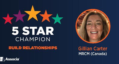 2021 July 5 Star Champion: Gillian Carter