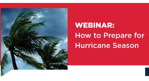 Webinar: How to Prepare for Hurricane Season