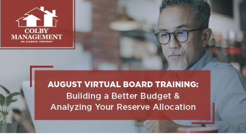 Webinar: Building a Better Budget & Analyzing Your Reserve Allocation