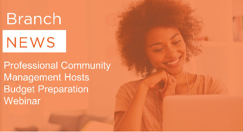 Professional Community Management Hosts Budget Preparation Webinar