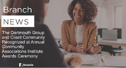 The Dartmouth Group and Client Community Recognized at Annual Community Associations Institute Awards Ceremony
