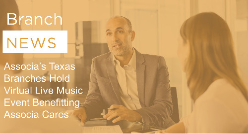 Associa's Texas Branches Hold Virtual Live Music Event Benefitting Associa Cares