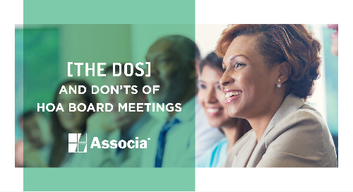 The Dos and Don'ts of HOA Board Meetings