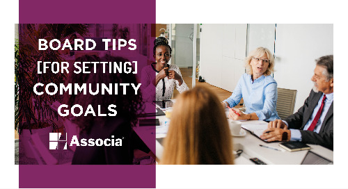 Board Tips for Setting Community Goals