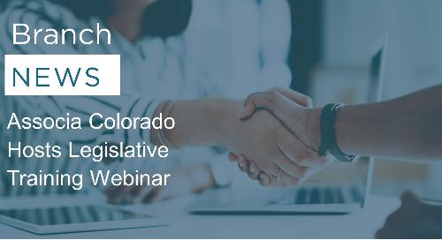 Associa Colorado Hosts Legislative Training Webinar