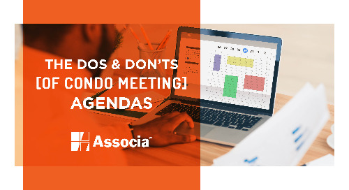 The Dos and Don'ts of Condo Meeting Agendas