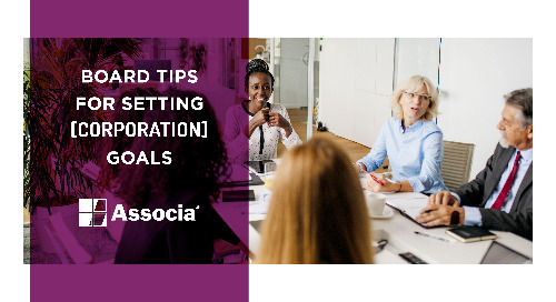 Board Tips for Setting Corporation Goals