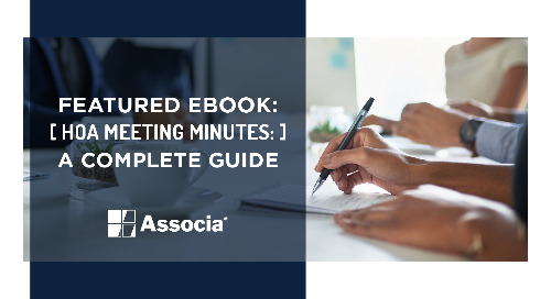 Featured Ebook: HOA Meeting Minutes: A Complete Guide