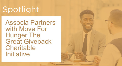 Associa Partners with Move For Hunger The Great Giveback Charitable Initiative