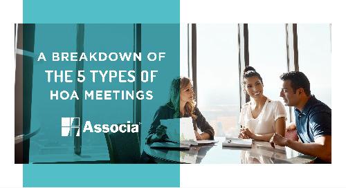 A Breakdown of the 5 Types of HOA Meetings