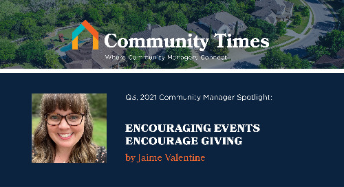 Engaging Events Encourage Giving - By Jaime Valentine