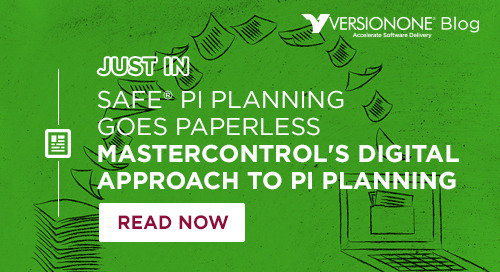 SAFe PI Planning Goes Paperless at MasterControl