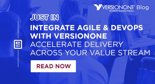 Integrate Agile & DevOps with VersionOne