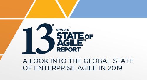 13th Annual State Of Agile Report