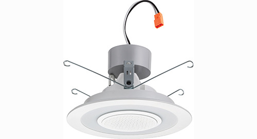 Lithonia 6SL LED Wireless Speaker Downlight