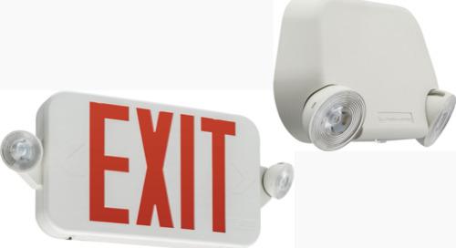 New! Lithonia Lighting EU2L and ECC - Emergency Lighting