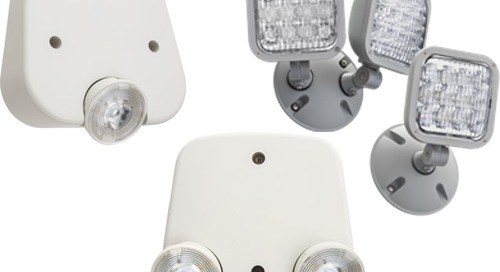 New! Emergency Remotes and Remote Capable EU2L and ECC Emergency Lights