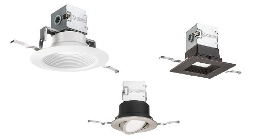 "New! Lithonia OneUp™ ""Canless"" LED Downlights"