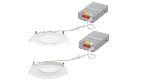Juno® Wafer™ LED Downlights with Switchable White