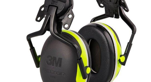 3M™ Peltor™ Hard Hat Attached Electrically Insulated Earmuffs, X4P5E