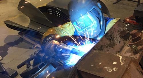 The welding wonder: How Adam Sebastian won Skills Saskatchewan twice and took home Skills Canada