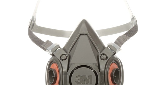 Wear it right: 3M™ Half Facepiece Respirator, 6000 Series