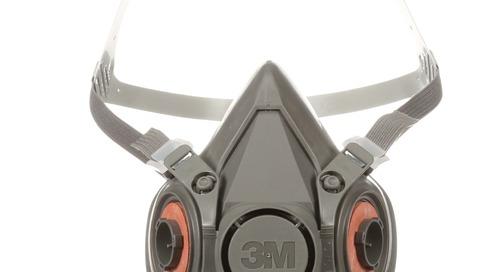 Wear it right: 3M™ Half Facepiece Respirator, 6000 Series