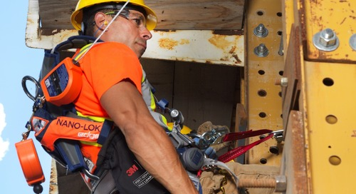 Standing up to falls: Learning the ABCDs of fall protection