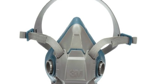 Wear it right: 3M™ Rugged Comfort Half Facepiece Reusable Respirator, 6500 Series