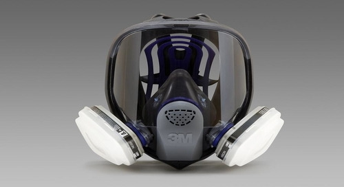 Wear it right: 3M™ Ultimate FX Full Facepiece Reusable Respirator, FF-400 Series
